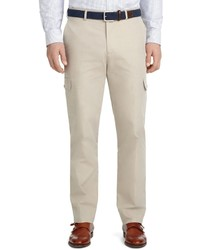 Brooks Brothers Milano Fit Plain Front Cotton Cargo Pants