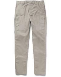 Brunello Cucinelli Slim Fit Cotton Trousers