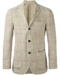 Soft check blazer medium 840216