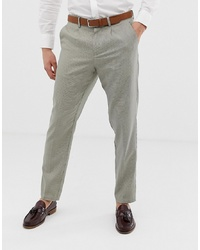 Selected Homme Smart Tapered Trouser In Grid Check