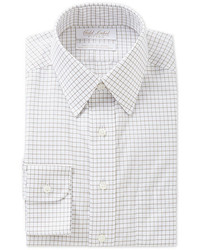 Roundtree & Yorke Gold Label Fitted Point Collar Dress Shirt