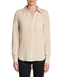 Lorelei two silk crepe blouse medium 225757