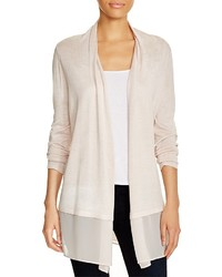 Chiffon trim cardigan medium 552413