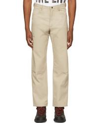Ostrya Beige Canvas Hardy Trousers