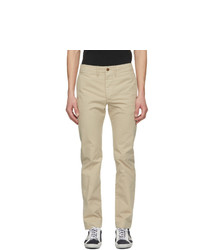 RRL Beige Chino Officer Fit Trousers