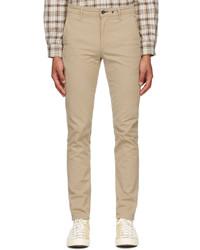 rag & bone Beige Classic Chino Trousers