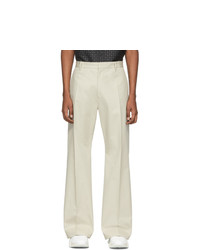 Marcelo Burlon County of Milan Beige Cross Trousers