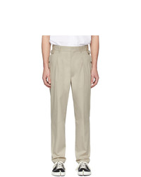 Maison Margiela Beige Side Trousers