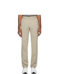 Z Zegna Beige Slim Fit Trousers