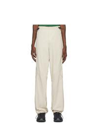 AFFIX Beige Technical Trousers