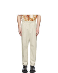 Deveaux New York Beige William Pants