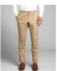 Gucci Beige Woven Skinny Fit Khaki Pants