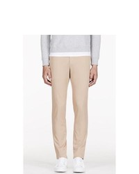 Carven Beige Cotton Classic Chinos