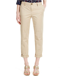 Tommy Hilfiger Cuffed Chino Straight Leg Pants Only At Macys
