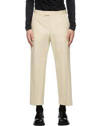 Dries Van Noten Gabardine Pinnet Trousers