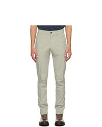 Dunhill Khaki Poplin Chino Trousers