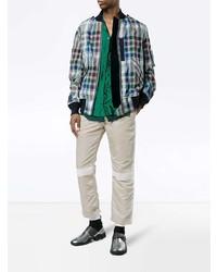 Sacai Ma 1 Trousers With Stripe Detailing