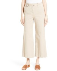 Nadeema crop flare leg chinos medium 3655922