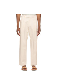 LE17SEPTEMBRE Off White Easy Trousers