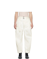 Lemaire Off White Twisted Trousers