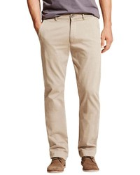 DL1961 Premium Denim Casual Straight Leg Chino Pants Beige