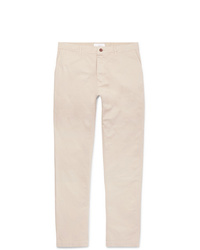 Mr P. Straight Leg Gart Dyed Cotton Twill Chinos