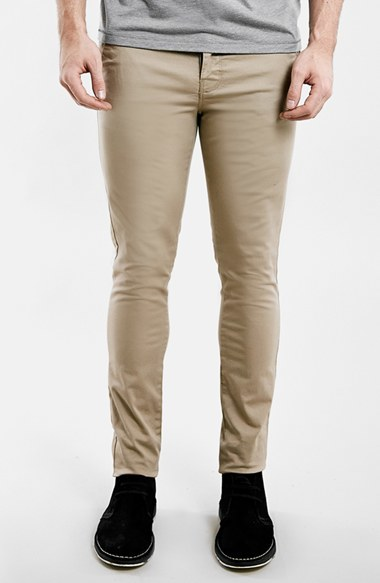 Topman Stretch Skinny Fit Chinos New Arrival OJ1WJx4ib