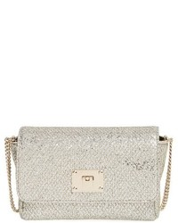 Ruby glitter clutch metallic medium 518315