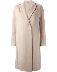 Brunello Cucinelli Llama Fur Double Breasted Coat