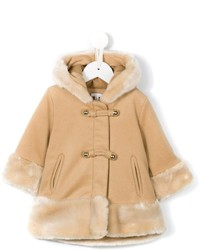 Chlo Kids Hooded Duffle Coat