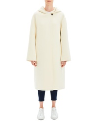 Theory Clean Duffel Wool Blend Coat