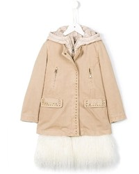 Ermanno Scervino Junior Internal Layered Coat