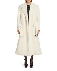 Saint Laurent Wool Trench Coat