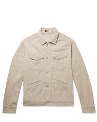 Isabel Marant Cotton Corduroy Trucker Jacket