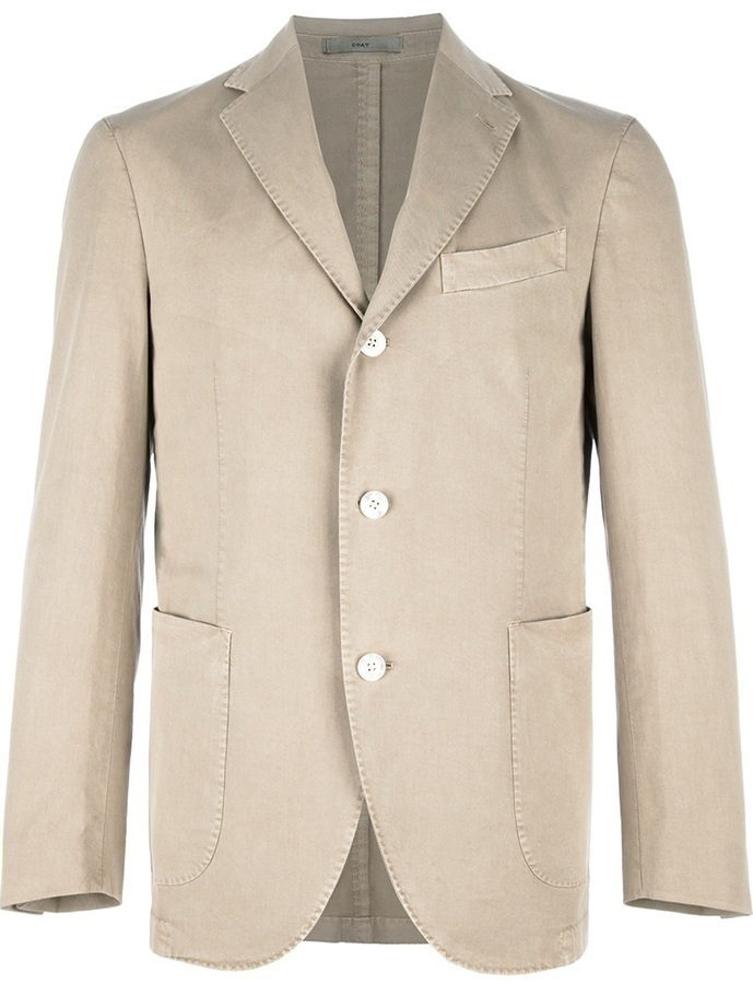 Boglioli Stretch Three Button Blazer