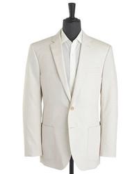 J.Crew Crosby Sportcoat In Tick Weave Italian Cotton