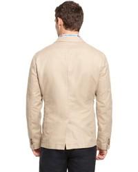 hugo boss cotton linen military blazer. Black Bedroom Furniture Sets. Home Design Ideas