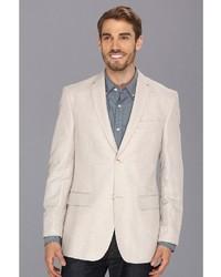 Perry Ellis Linen Cotton Herringbone Jacket