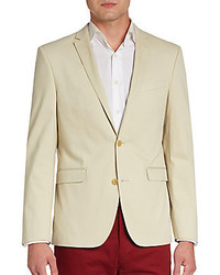 Slim Fit Cotton Sportcoat