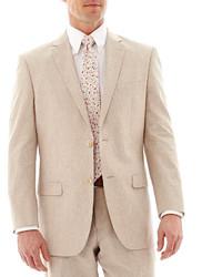jcpenney Stafford Cotton Linen Suit Jacket
