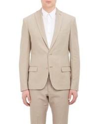 Bottega Veneta Twill Two Button Sportcoat