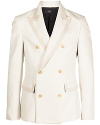 Amiri Double Breasted Cotton Blazer