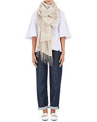 From the road turi cashmere cotton flannel scarf medium 4312374