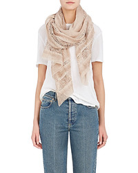 Sofia lace border cotton blend scarf medium 4312372