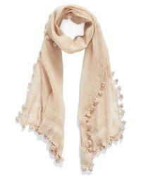 Tassel silk scarf medium 4312376