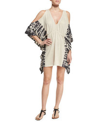 Ale By Alessandra Free Spirit Cold Shoulder Coverup Natural
