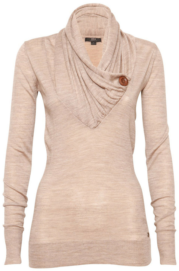 Emu Cowl Neck Sweater | Where to buy & how to wear