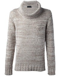Daniele fiesoli cowl neck sweater medium 7226