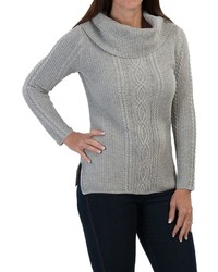 Jeanne Pierre Fisherman Sweater Cowl Neck | Where to buy & how to wear