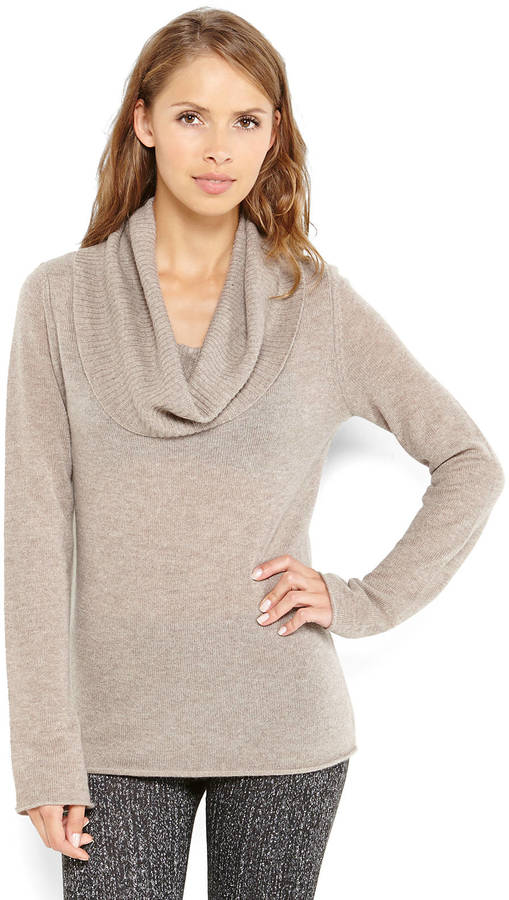 Ply Cashmere Cowl Neck Cashmere Sweater | Where to buy & how to wear